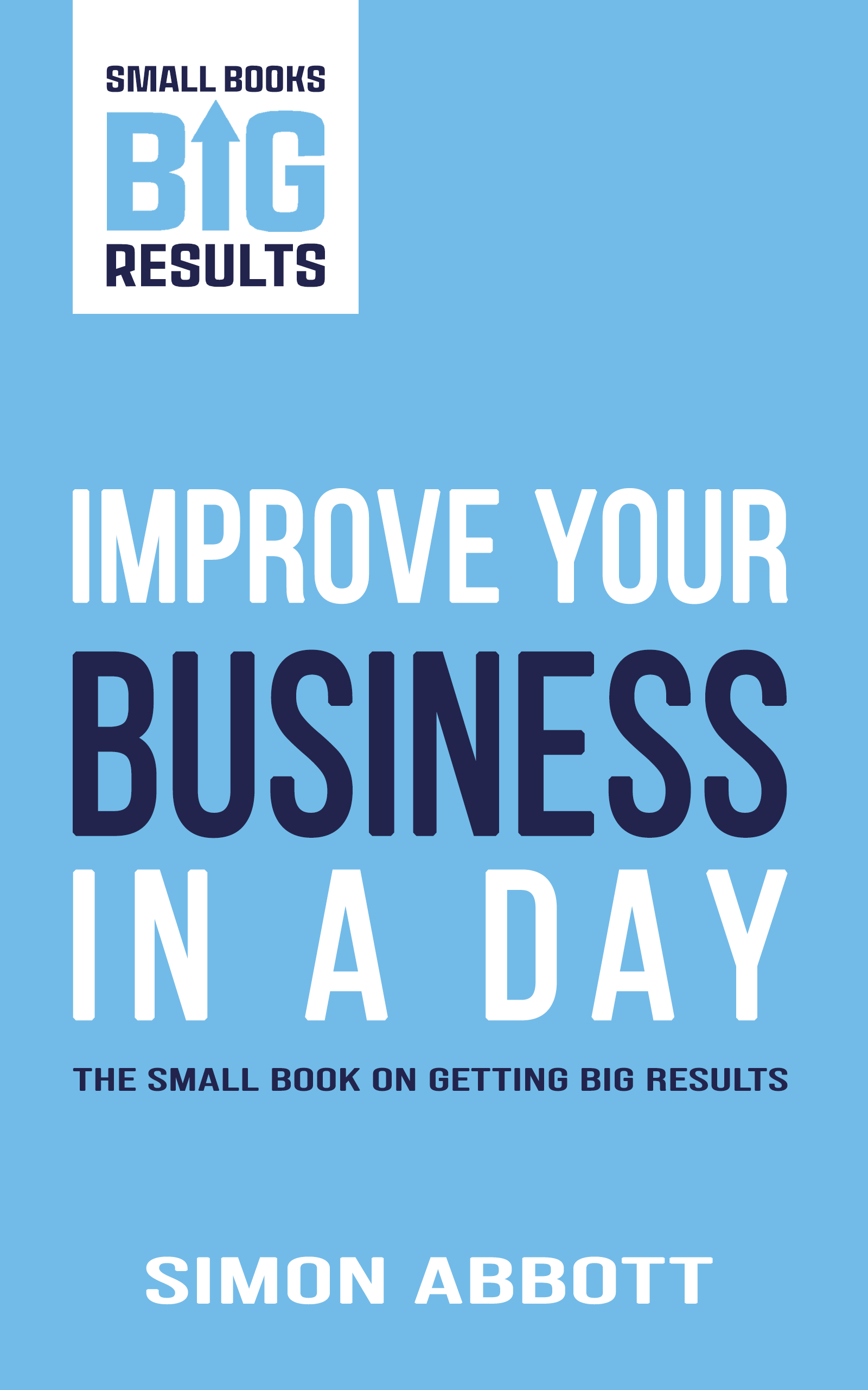 Improve Your Business In A Day Cover